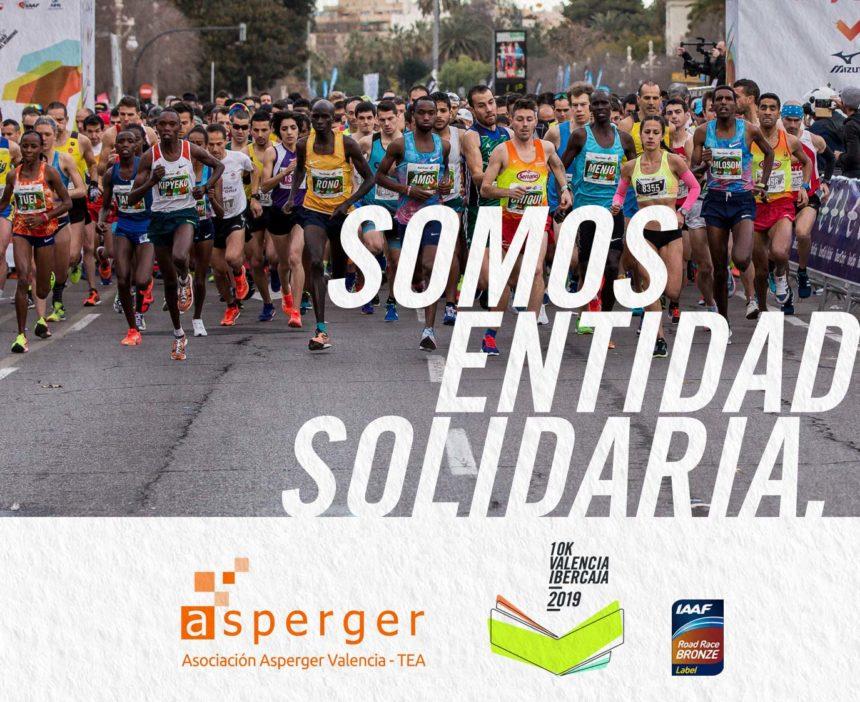 Decenas de voluntarios de la asociación participarán en el 10k Valencia Ibercaja