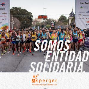 La Asociación Asperger Valencia, entidad solidaria del 10K Valencia