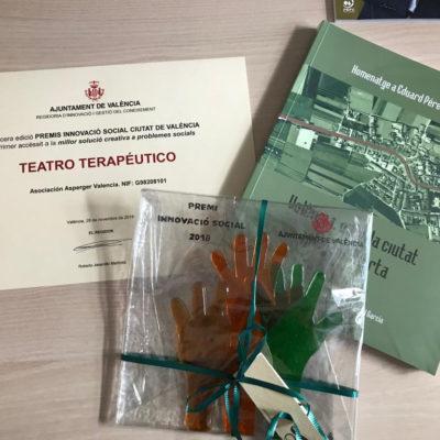 El Ayuntamiento de Valencia premia el teatro terapéutico de la asociación