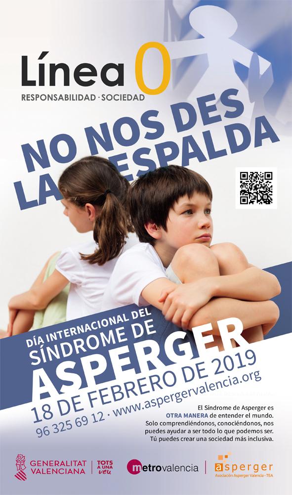 El Síndrome de Asperger se visibiliza en la Línea 0 de Metrovalencia